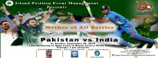 Pakistan Vs India Live Screening Beach Luxury Hotel